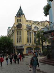 Книжный магазин ан центральной улице Харбина
